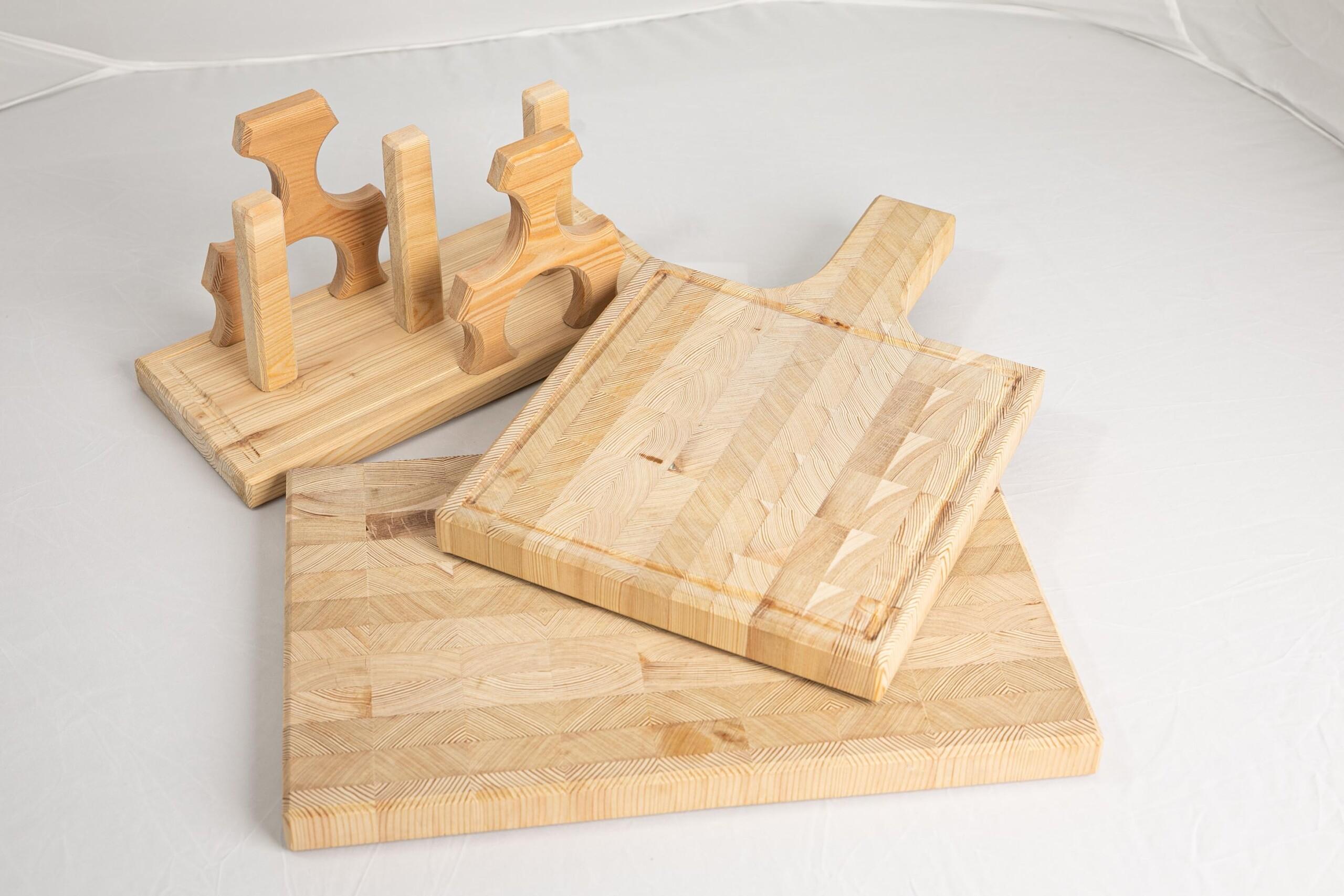 lesena deska za rezanje